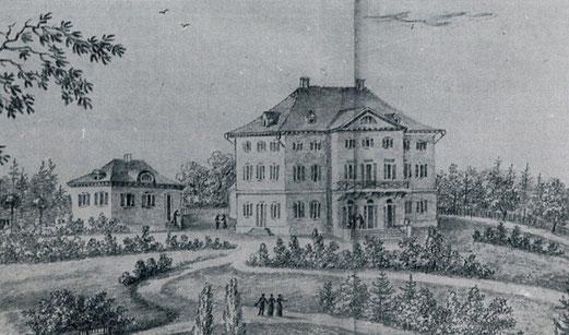 Eugensberg 1823, auch von N. Hug