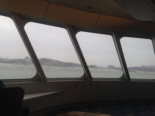 平潭島への到着