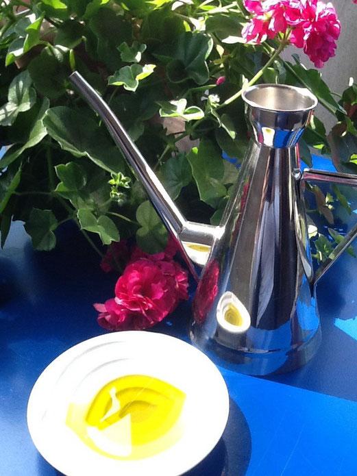 Feines Olivenöl extra vergine, Il Melograno Hamburg