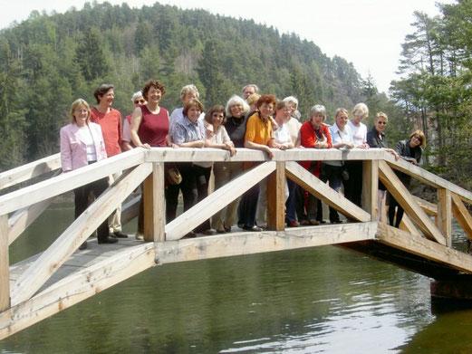 Südtirol-Ausflug 2005:Unsere Fangemeinde