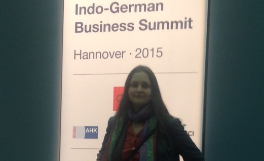 Indo German Business Summit with PM Modi @Hannover Messe 2015  -Partner Country India