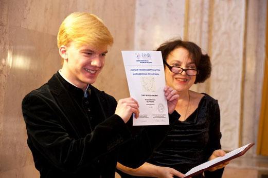 Yury Revich der ERVIK  Friedensbotschafter ernannt
