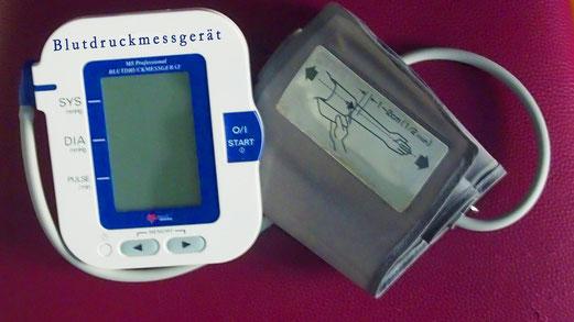 Prüfung Blutdruckmessgeräte in der Robert-Koch-Apotheke