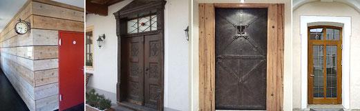 Sanierungsarbeiten von Schreinerei Lagler in Flintsbach