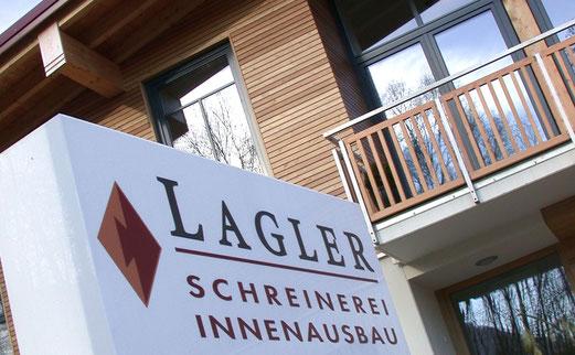 Gebäude Schreinerei Lagler in Flintsbach am Inn