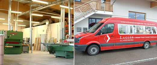 Werkstatt, Schreinerei Lagler in Flintsbach am Inn