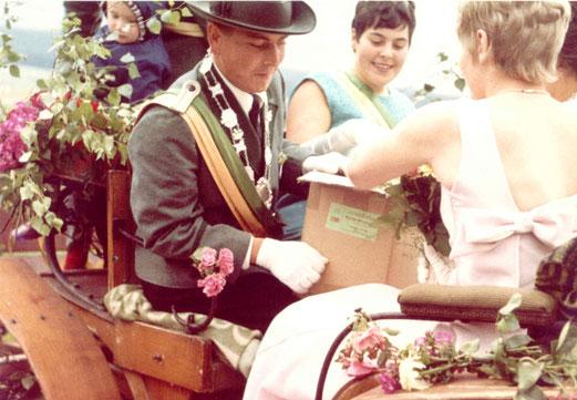 50-jähriges Jubelkönigspaar: Horst Mattheus und Elisabeth Willeke