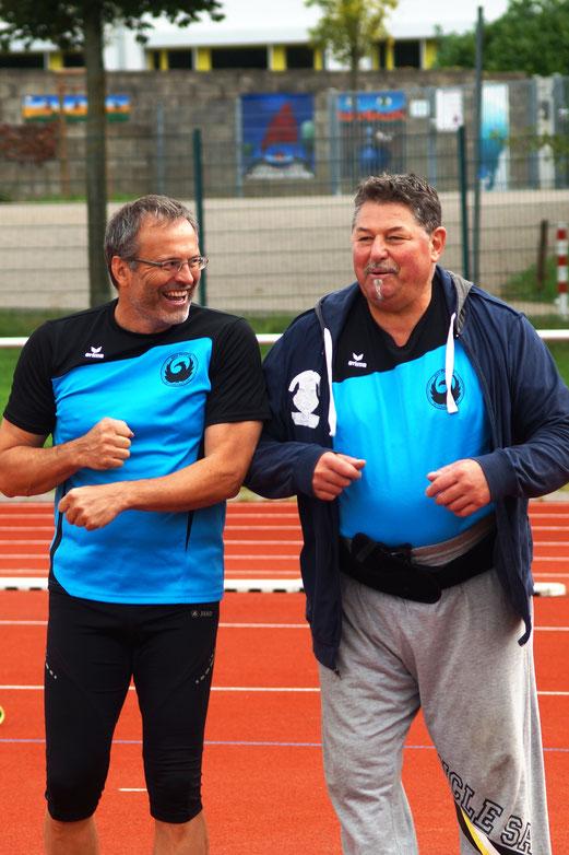 Dr. Klaus Lutter (links) und Norbert Gundrmann befinden sich in einer ausgezeichneten Spätform.