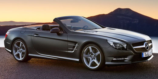 La Mercedes SL