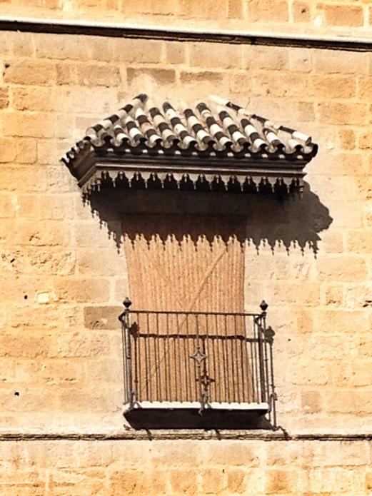 Balcón del Museo Picasso Málaga