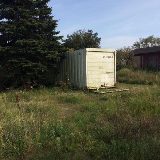 Mein Schreibcontainer auf Hiddensee (Foto: b. schaefer)