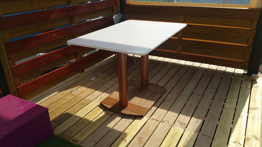 Table immergeable piscine