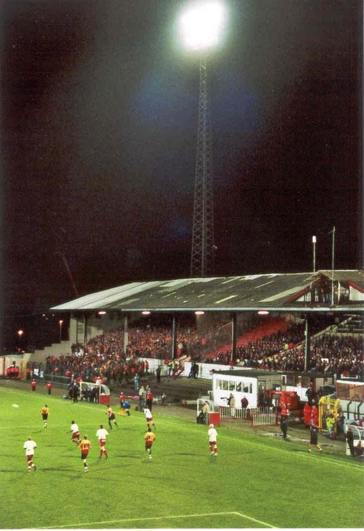 Flutlicht im Bosuilstadion