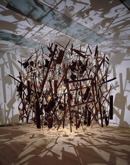 Cold Dark Matter: An Exploded View 1991 © Cornelia Parker, Tate Gallery.