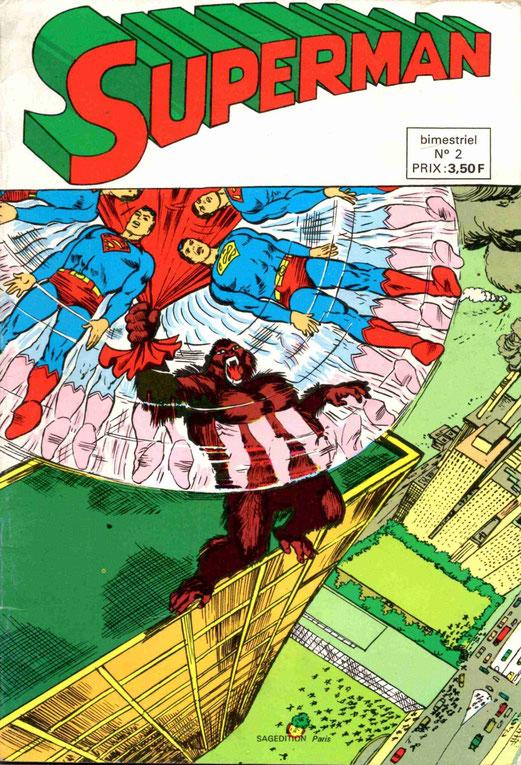 Superman, n°é de 1975.