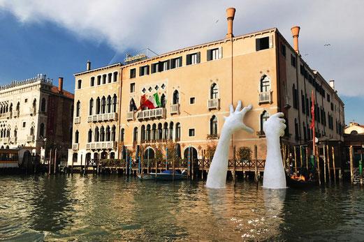 SUPPORT, installation à la Biennale de Venise 2017.