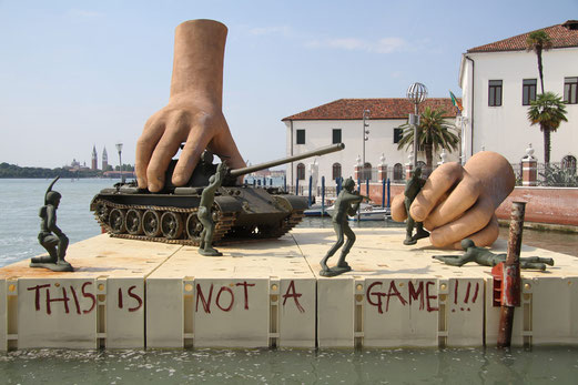 THIS IS NOT A GAME, 54ème Biennale de Venise ,installation en 2011.