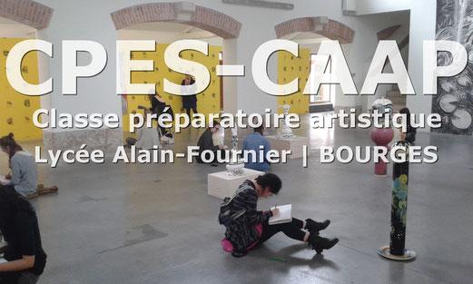 Lien pour retrouver toutes les informations de la CPES-CAAP de Bourges