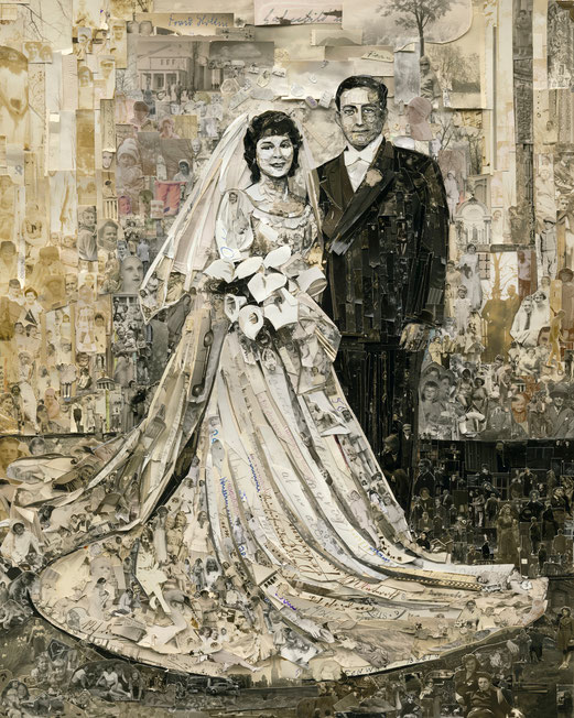 Vik Muniz, Wedding (Album), 2013 © Vik Muniz. Courtesy Xippas Galleries & Vik Muniz Studio