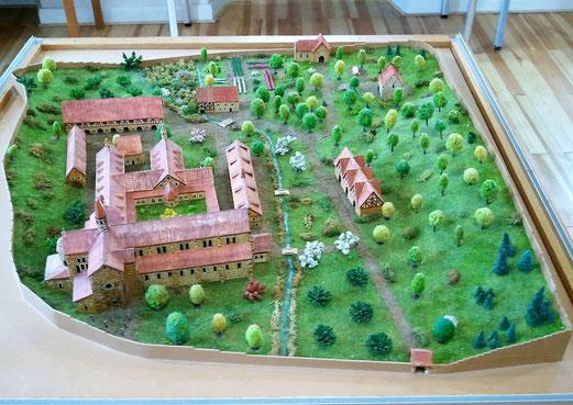 Ehemaliges Kloster Otterberg, Modell Heimatmuseum