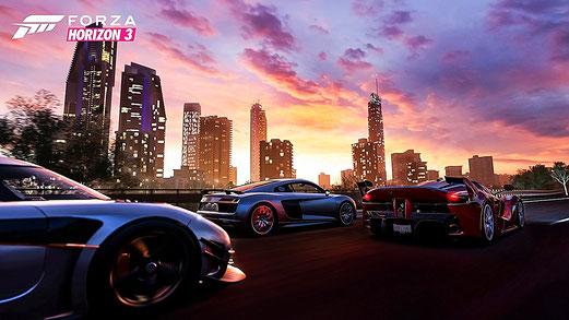 Forza Horizon 3: Autos