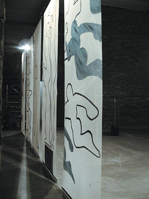 SAPRI Tücher, Galerie Riverloft, Düsseldorf