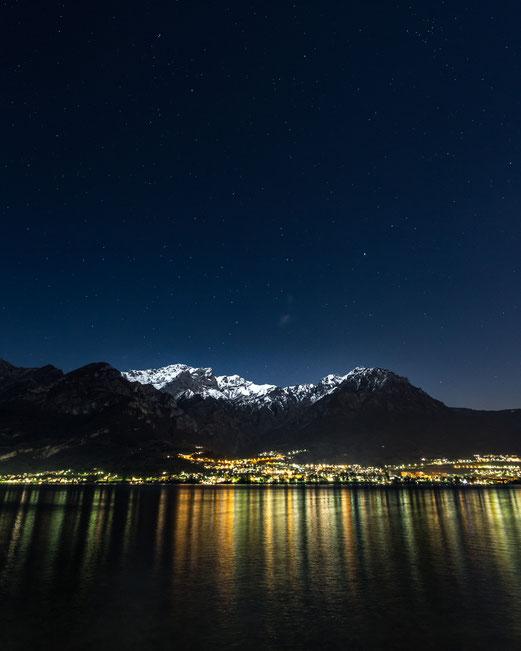 Magic Moment at Lago di Como :: Copyright Martin Schmidt, Fotograf für Schwarz-Weiß Fine-Art Architektur- und Landschaftsfotografie aus Nürnberg