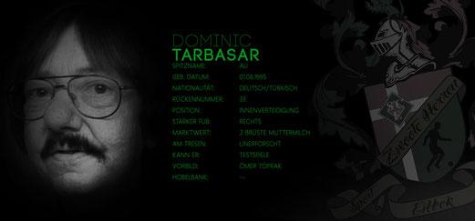 Dominic Ali Tabasar