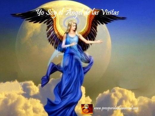 ÁNGELES DE LUZ DIVINA- YO SOY EL ÁNGEL DE LAS VISITAS- PROSPERIDAD UNIVERSAL - www.prosperidaduniversal.org