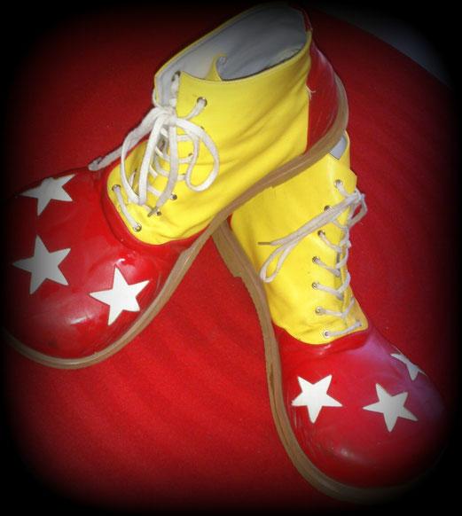 Clown Mabo's Schoenen