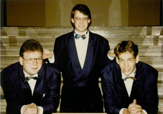Erwin Oppermann, Olaf Lesemann und Marc Wallert, Auftritt von Combo Con Brio im Bürgerhaus Bovenden