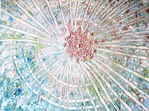 Marias Licht  Acryl 30x40cm