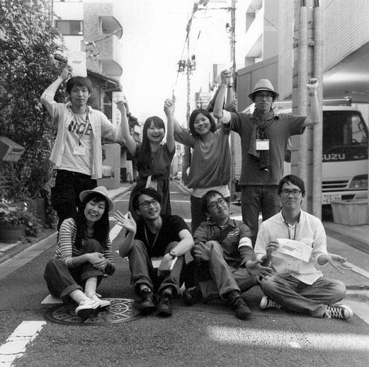 「京都・のきさき市」スタッフ様(2015年5月 白黒フィルム撮影)