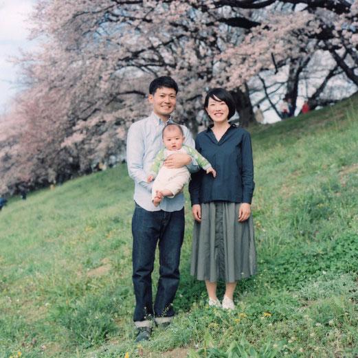 K様ご家族(2016年4月 カラーフィルム撮影)