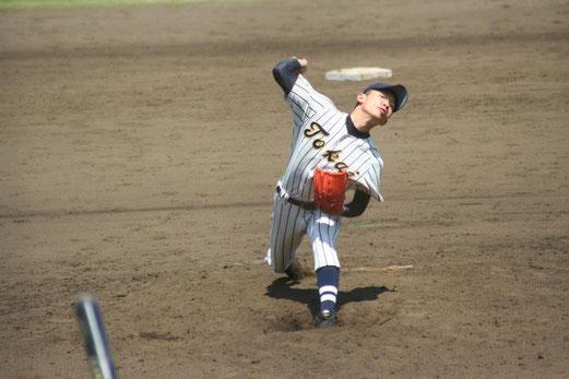 引き続き慶應義塾の攻撃は、写真をクリック!