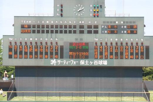 2015神奈川県春季大会準決勝 県立相模原vs市立橘