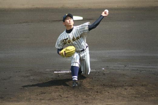 慶應義塾の攻撃は、写真をクリック!