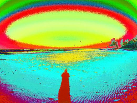 """Maroochydore beach walk"" by Jon Baird, Australia"