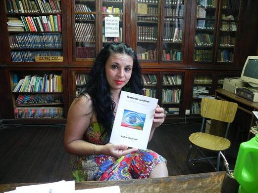 """The librarian of """"Biblioteca Popular"""" - La Paz Entre Ríos,  Argentina"""