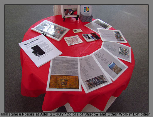 "2011 - The table of ""Immagine & Poesia"" - Clifton Art Center, USA"