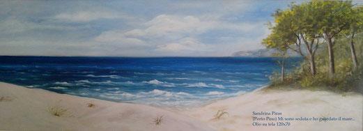 """""""Mi sono seduta e ho guardato il mare """" by Sandrina Piras, Italy"""