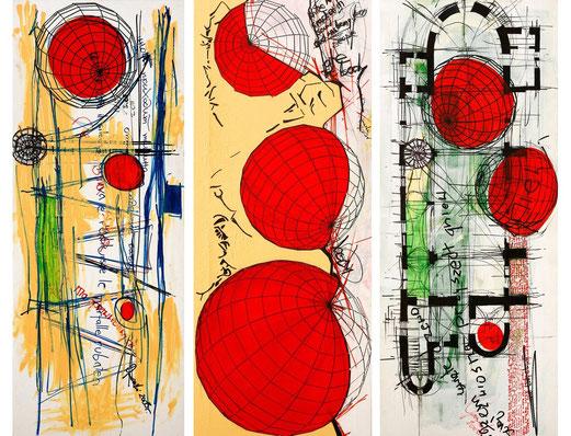 [Triptych] by Krzysztof Ogonowski