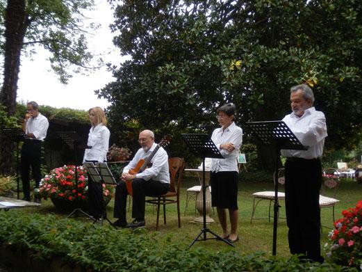"""""""La compagnia del Teatro Instabile delle Gambe sotto il tavolo"""" in a  recital for the European Heritage Days"""