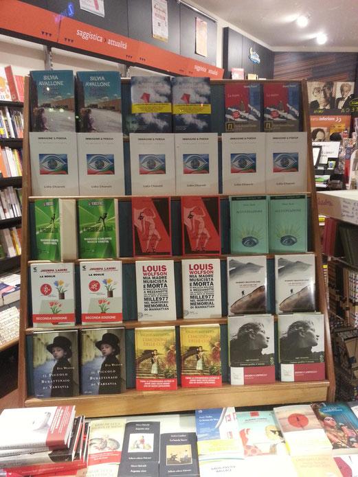 Shopwindow of Libreria Torre di Abele, Torino