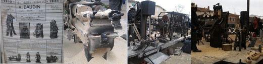 Machine à vapeur à fabriquer les sabots