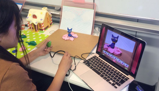 初めてのクレイ・アニメーション教室