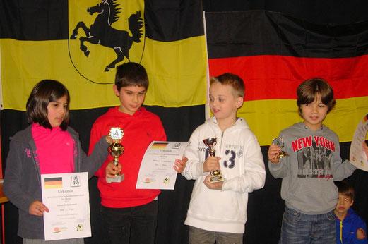 2. Platz Lerchenrainschule Stuttgart