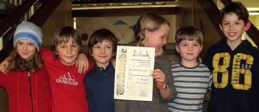6. Platz Kirchhaldenschule (von 27) und stark ersatzgeschwächt ohne 3 Stammspieler
