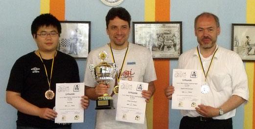 Sieger der Gesamtwertung: Ge, Oliver, Egmont