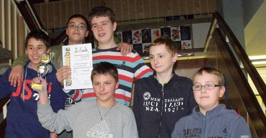 1. Platz WK 3: Qualifiziert für die Nordwürttembergische Schulschachmeisterschaft!
